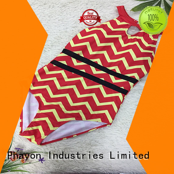 PHAYON solid swimwear wholesale for swimming pool