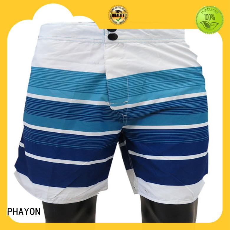 PHAYON beach shorts men factory for swimming pool