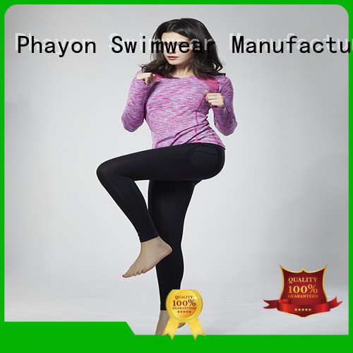 PHAYON fitness clothing yoga fitness wear for sports