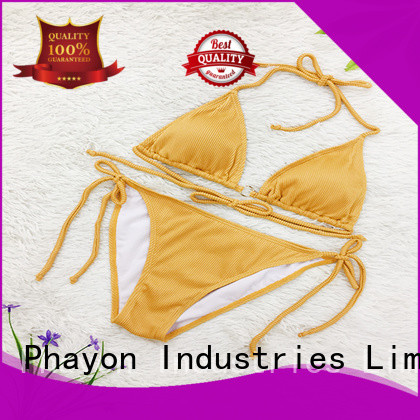 PHAYON high cut swimwear sale with back hollow for beach