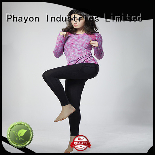 PHAYON top cycling wear yoga fitness wear for outdoor activity