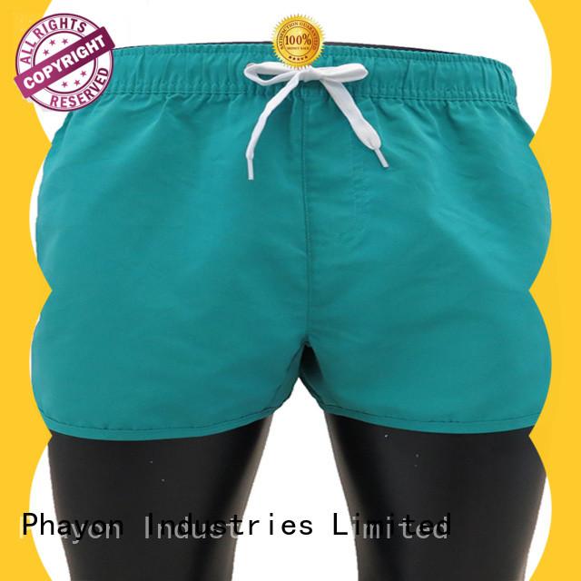 PHAYON beach shorts men surf beachwear for holiday