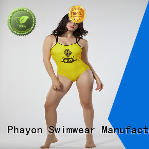 PHAYON boutique bathing suits with back hollow for beach