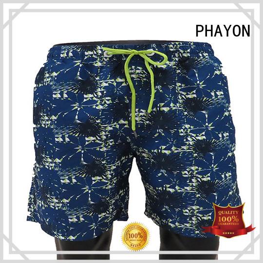 Print man beach Shorts with waist elastic design