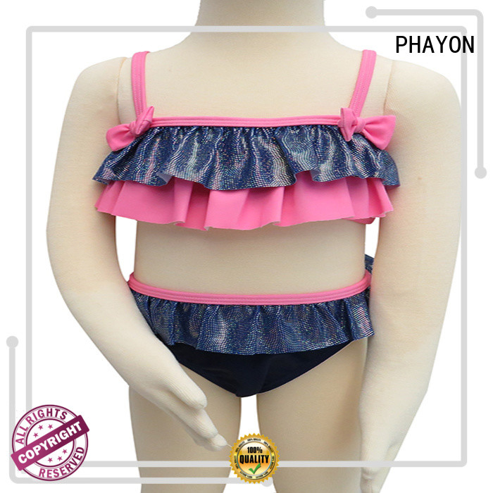 PHAYON bathing suits for kids girls supplier for beach