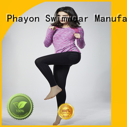 PHAYON cycling clothing brands yoga fitness wear for sports