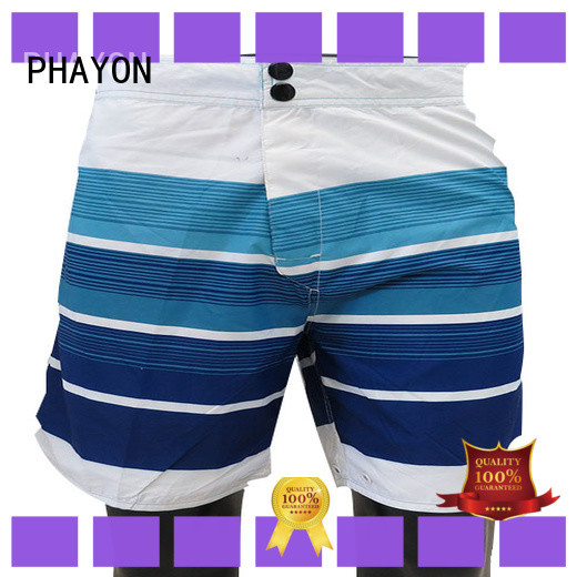 PHAYON new men clothing wholesale factory for swimming pool