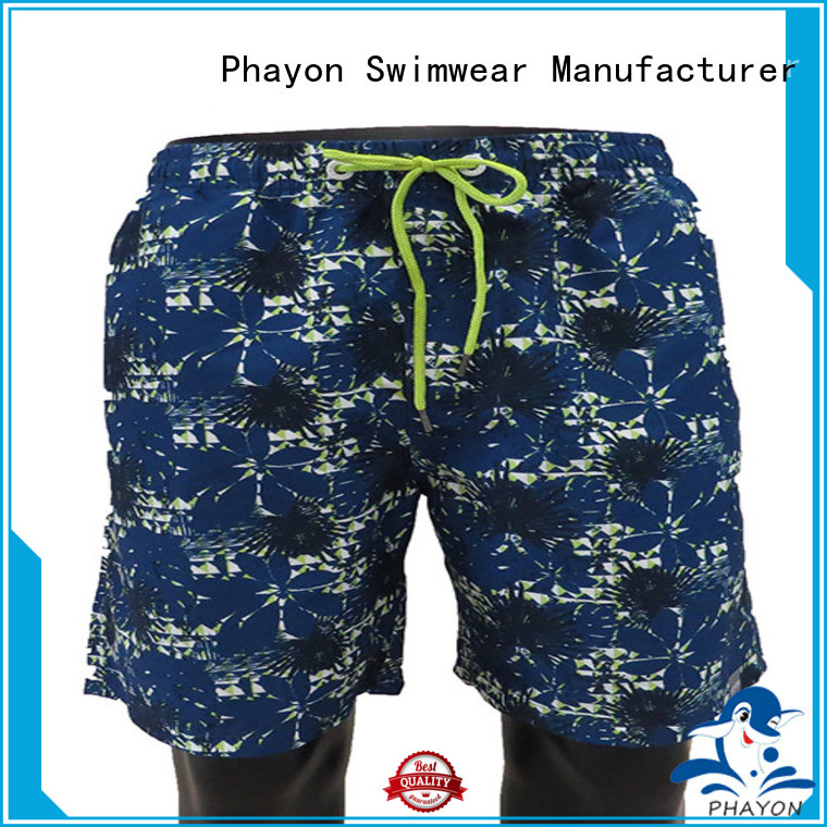 top beach shorts with waist elastic design for holiday