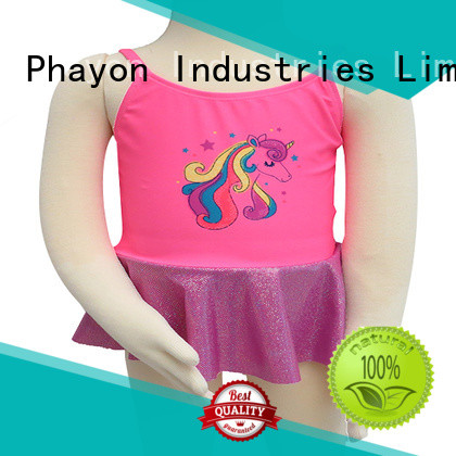PHAYON one piece girl bathing suits bathing suit for swimming pool