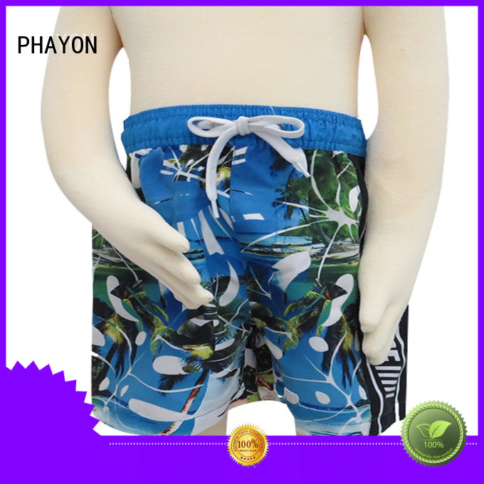 PHAYON boys clothes sale manufacturer for swimming pool