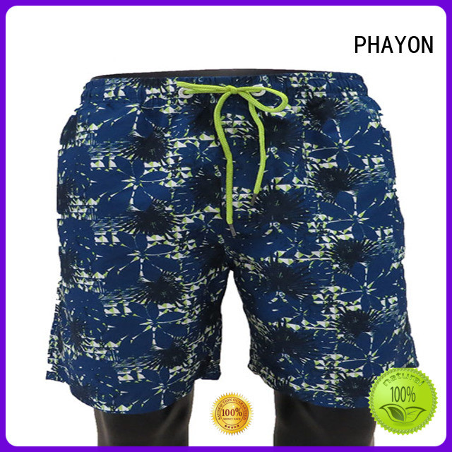 PHAYON men clothing wholesale with waist elastic design for holiday