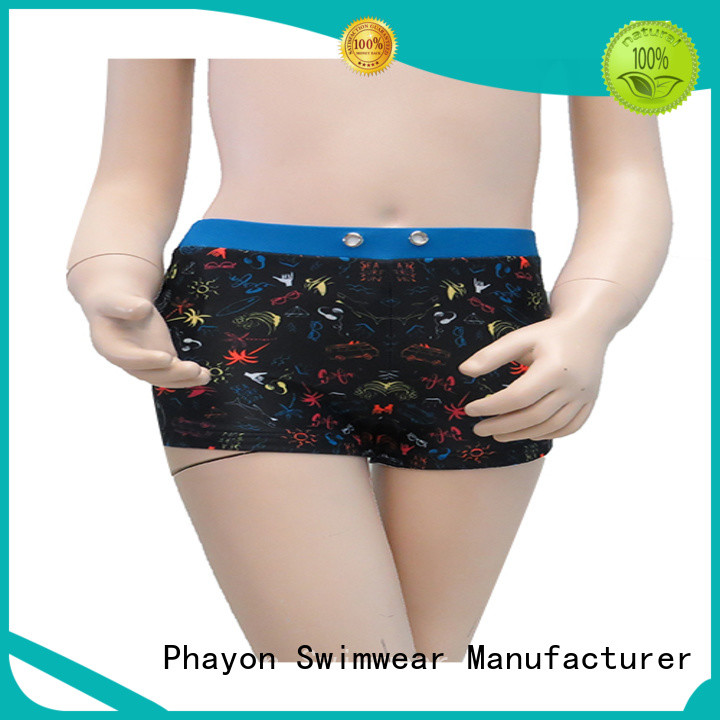 PHAYON custom swim trunks bathing suit for swimming pool