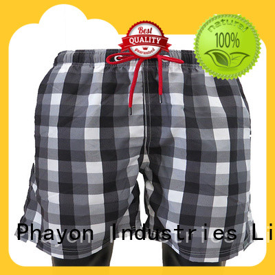 PHAYON new mens clothing sale manufacturer for swimming pool