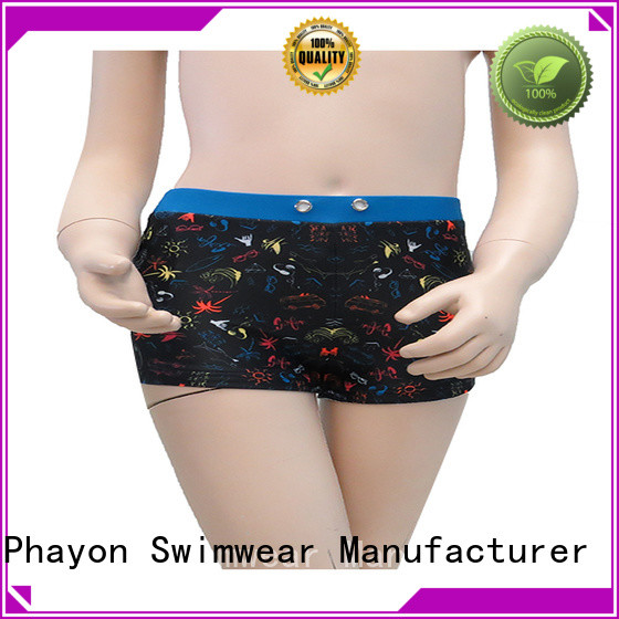 PHAYON top boys swimsuits boxer trunks for swimming pool