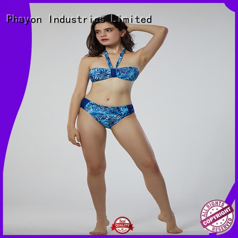 PHAYON animal print female bikini for holiday