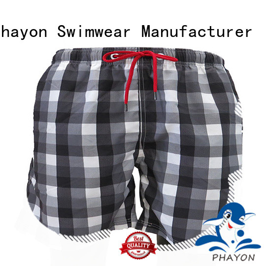 high quality mens boardshorts sale with waist elastic design for beach