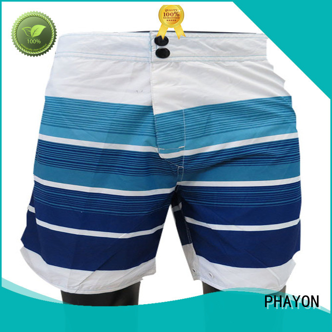 PHAYON solid mens board shorts board shorts for beach