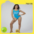 New Women Sexy One Piece Backless Letters Print Bikini Swimsuit with padding