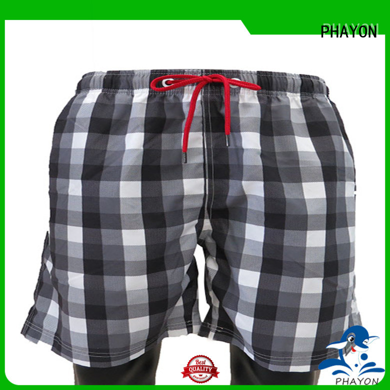 latest beach shorts with waist elastic design for holiday