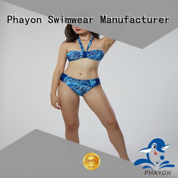 PHAYON sexy bikini beachwear with back hollow for beach