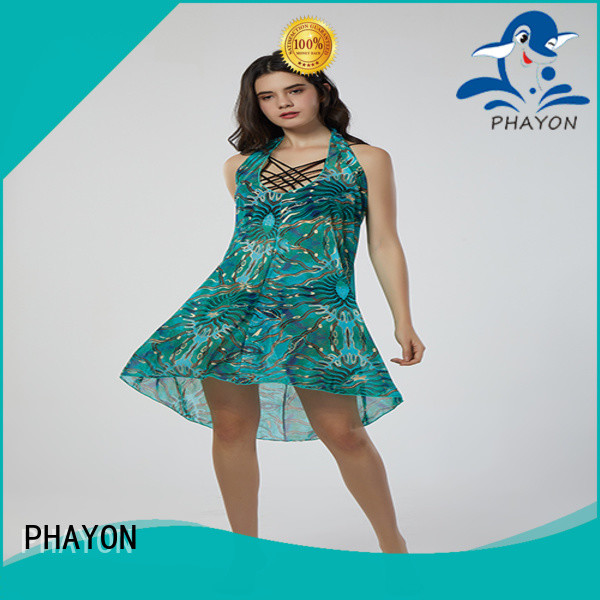 PHAYON top sexy bathing suit cover ups kaftan for beach