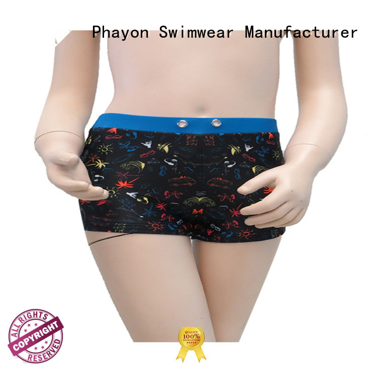 boys clothing wholesale boxer trunks for beach PHAYON
