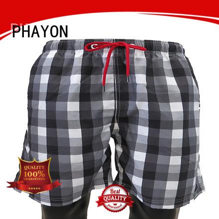 PHAYON color board shorts mens clothing surf beachwear for beach