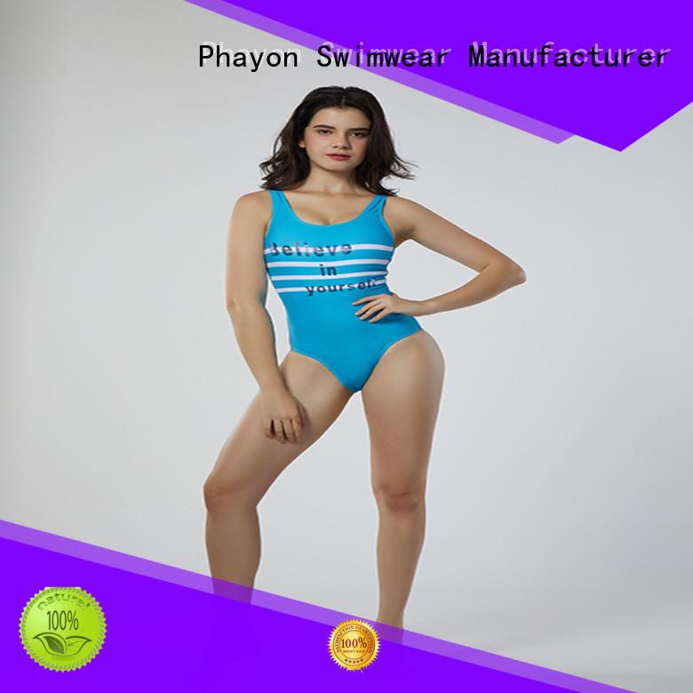 PHAYON custom bikini tankini for swimming pool