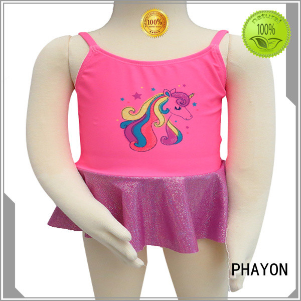 PHAYON custom girls swimsuit dress for holiday