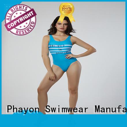 PHAYON one piece swimming bikini wear for swimming pool