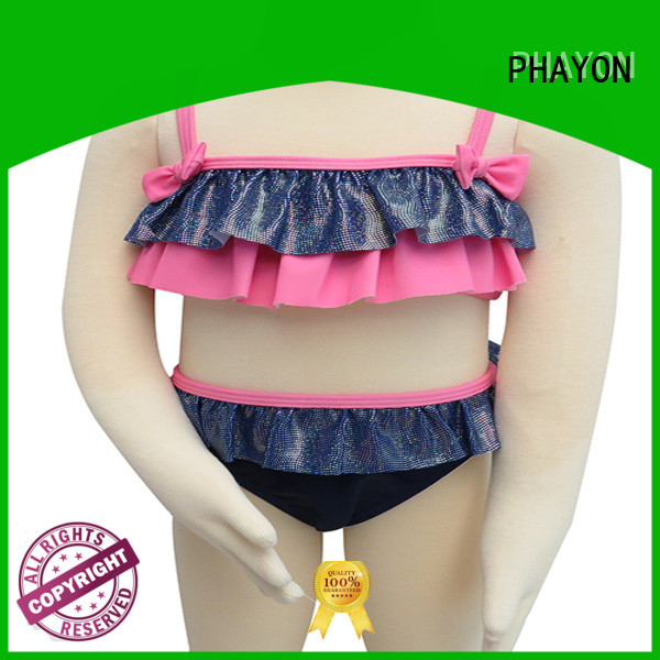 custom little girl clothes for busniess for swimming pool