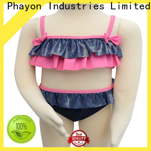 PHAYON one piece little girl clothes company for swimming pool