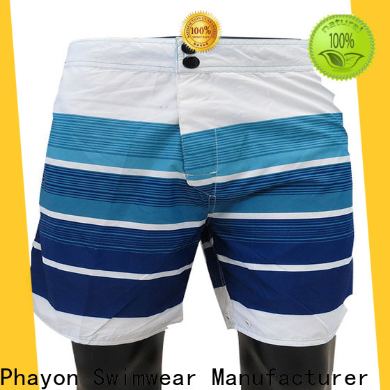 PHAYON mens clothing sale with waist elastic design for swimming pool