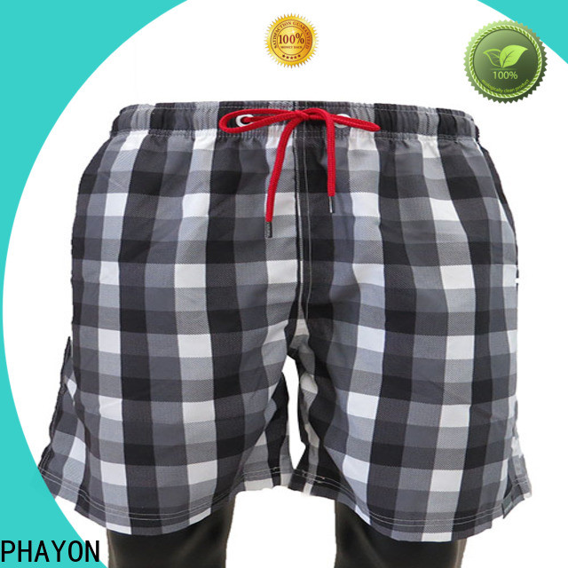 PHAYON sport mens boardshorts sale factory for swimming pool