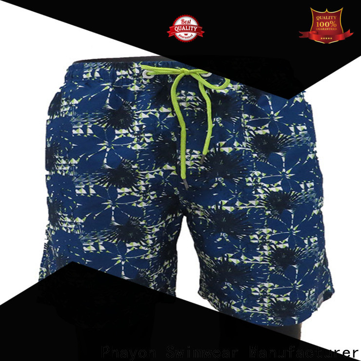 PHAYON latest mens clothing sale board shorts for swimming pool