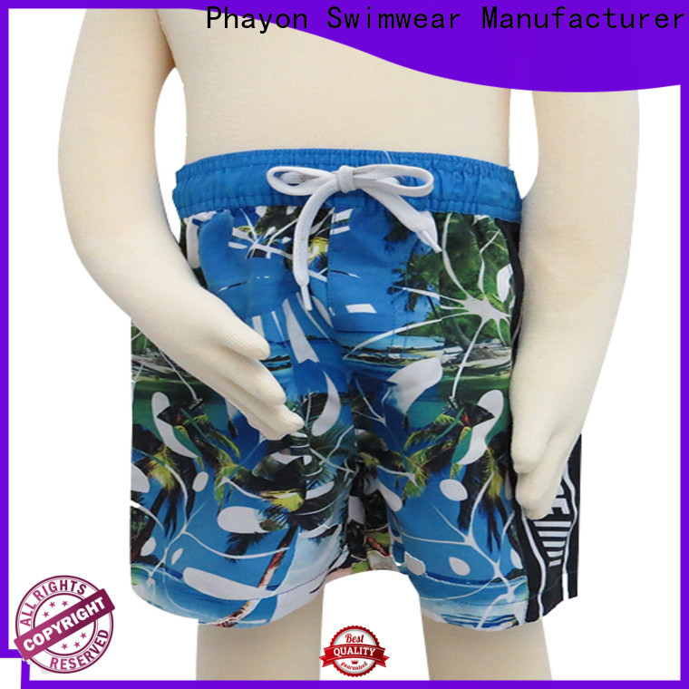 PHAYON colorful boys shorts swimwear supplier for sale