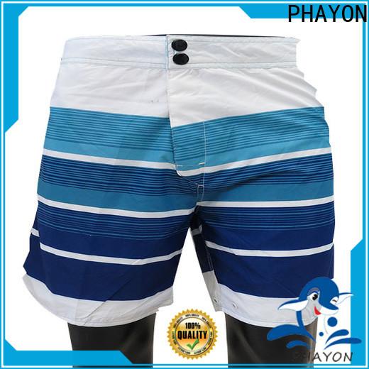 stripes mens board shorts surf beachwear for swimming pool
