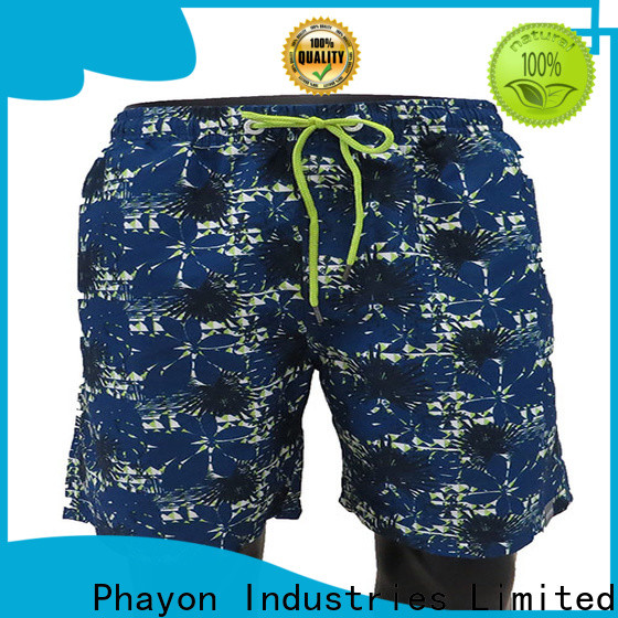 PHAYON collide mens boardshorts sale supplier for beach