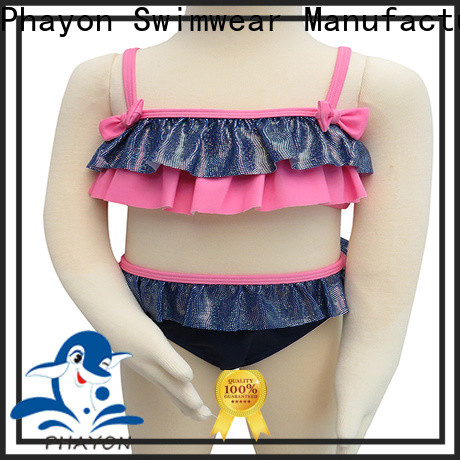 PHAYON girls swimwear sale factory for beach
