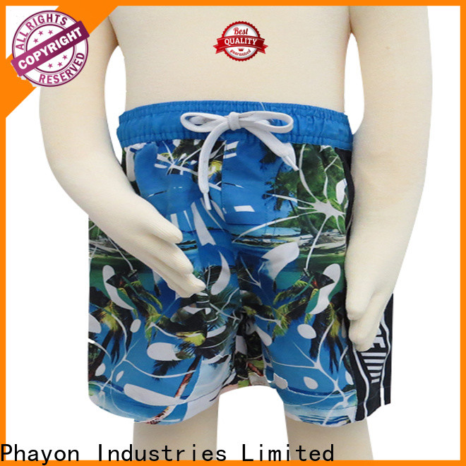 PHAYON wholesale boys board shorts manufacturer for sale