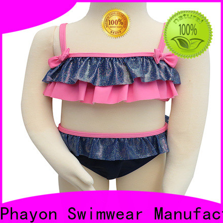 PHAYON toddler girl swimsuits dress for beach
