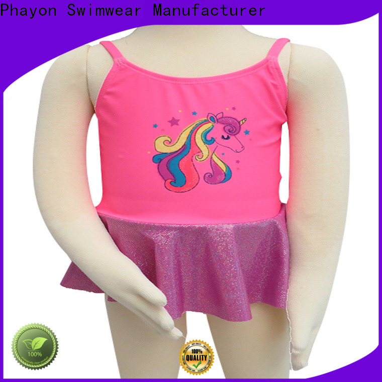 PHAYON animal print girls swimwear sale summer suits for holiday