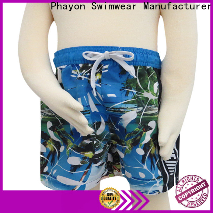 PHAYON boys swimwear with customized service for swimming pool