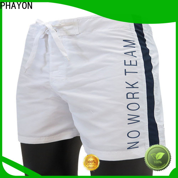 PHAYON beach shorts men with waist elastic design for swimming pool