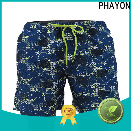 PHAYON stripes beach shorts factory for beach