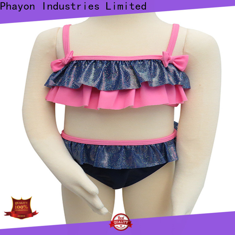 PHAYON two shoulder girls clothing wholesale manufacturer for swimming pool