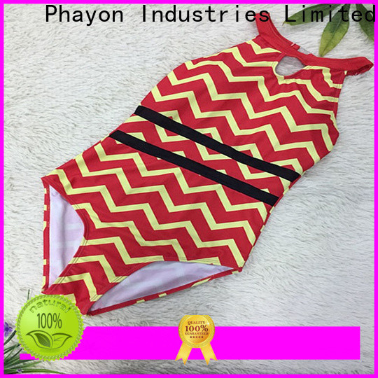 PHAYON wholesale custom swimsuits factory for swimming pool