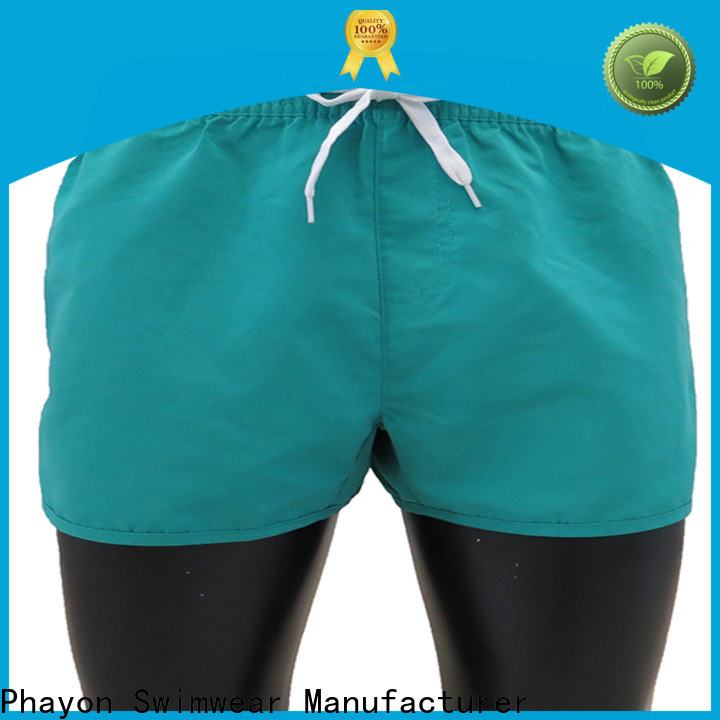 black mens board shorts company for swimming pool