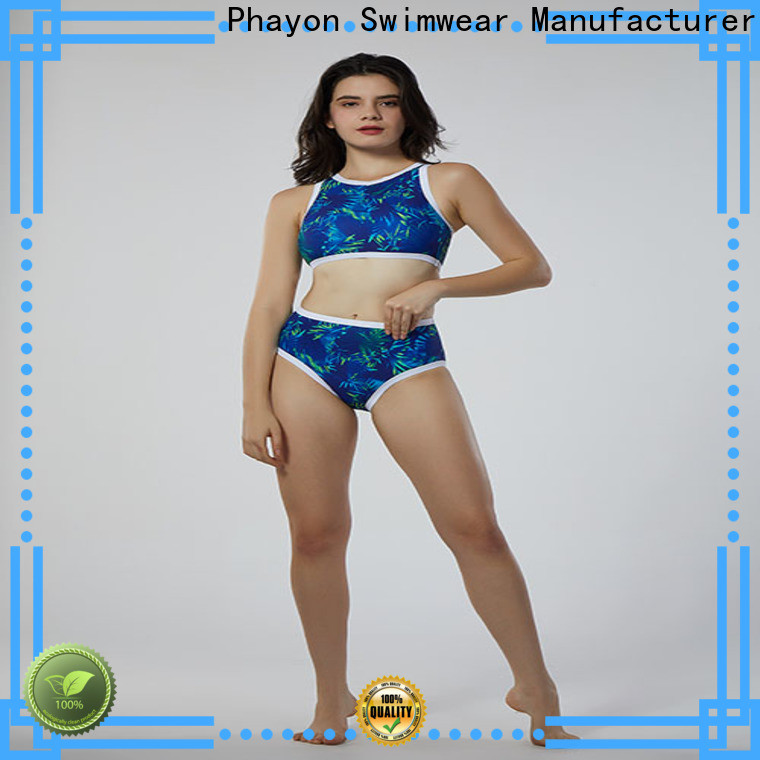 thin tankini swimwear supplier for beach